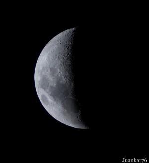 Cuarto menguante de Luna hoy 4/3/2013 - Margit Glassel