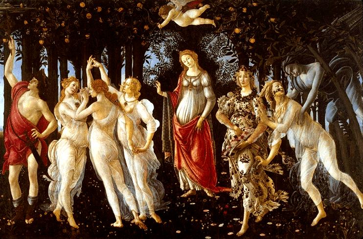 Sandro-Botticelli-Primavera-1478