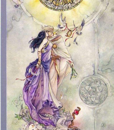 lovers - Eliminar el término: Luna Llena en Libra Luna Llena en Libra - Margit Glassel - Tarot