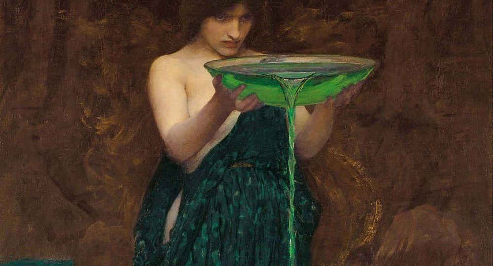 Circe - Waterhouse - Margit Glassel
